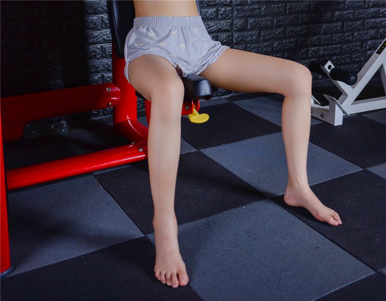 【兔玩映画】健身房的美少女 兔玩映画 第26张