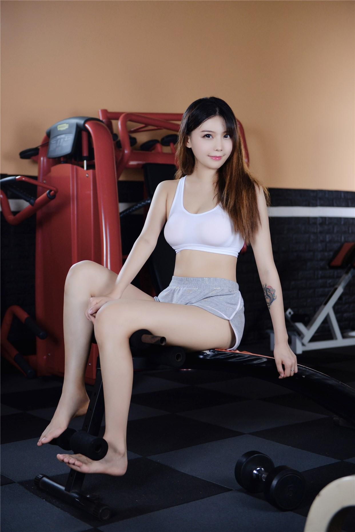 【兔玩映画】健身房的美少女 兔玩映画 第27张
