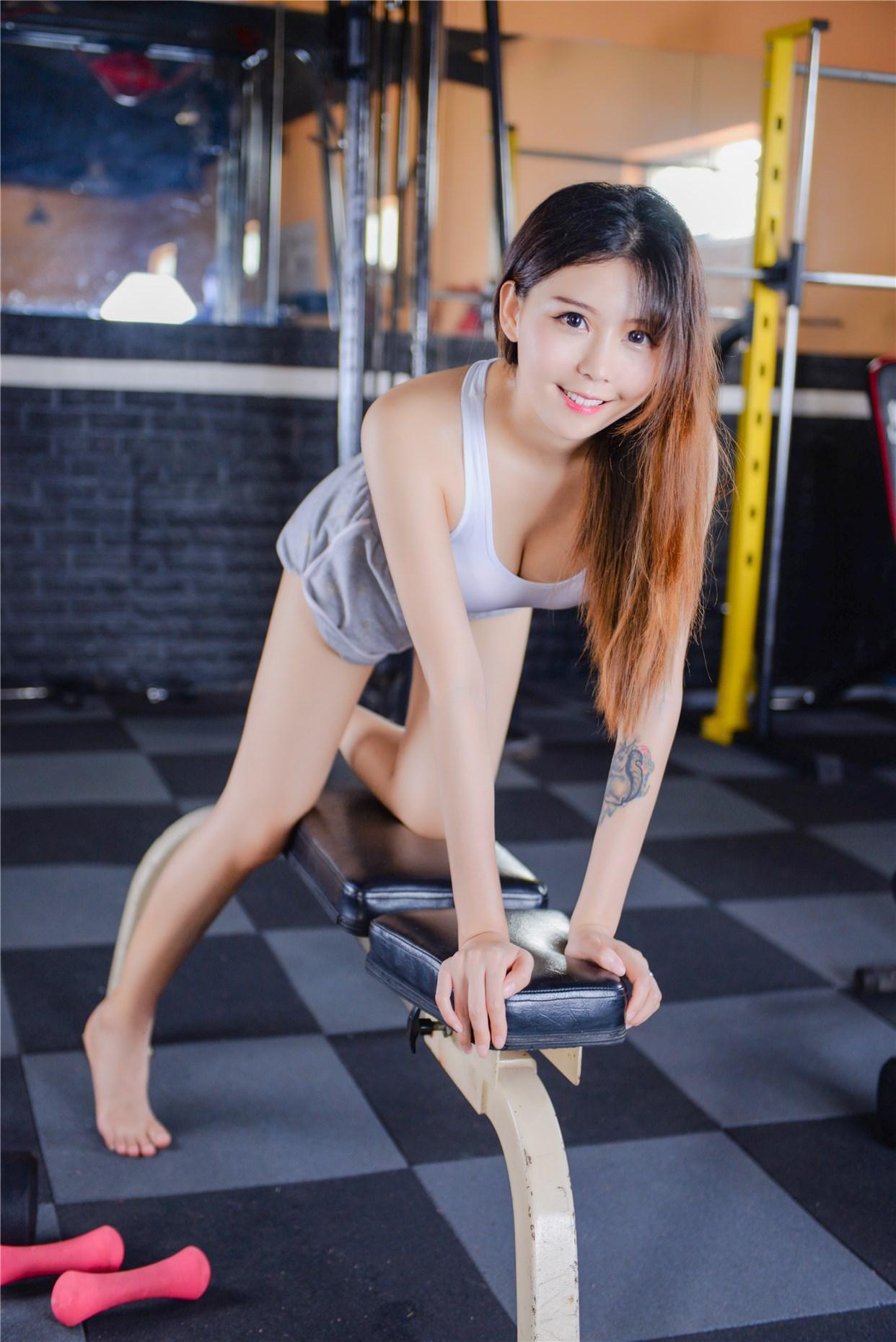 【兔玩映画】健身房的美少女 兔玩映画 第23张