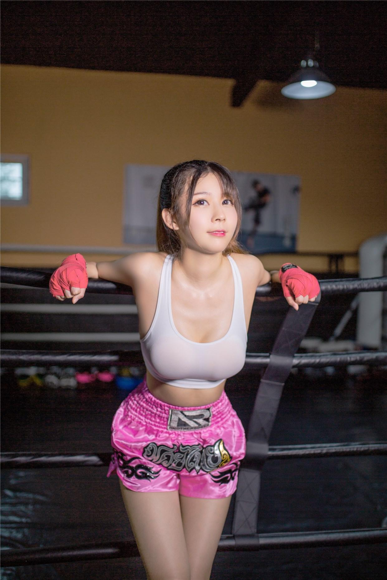 【兔玩映画】健身房的美少女 兔玩映画 第11张