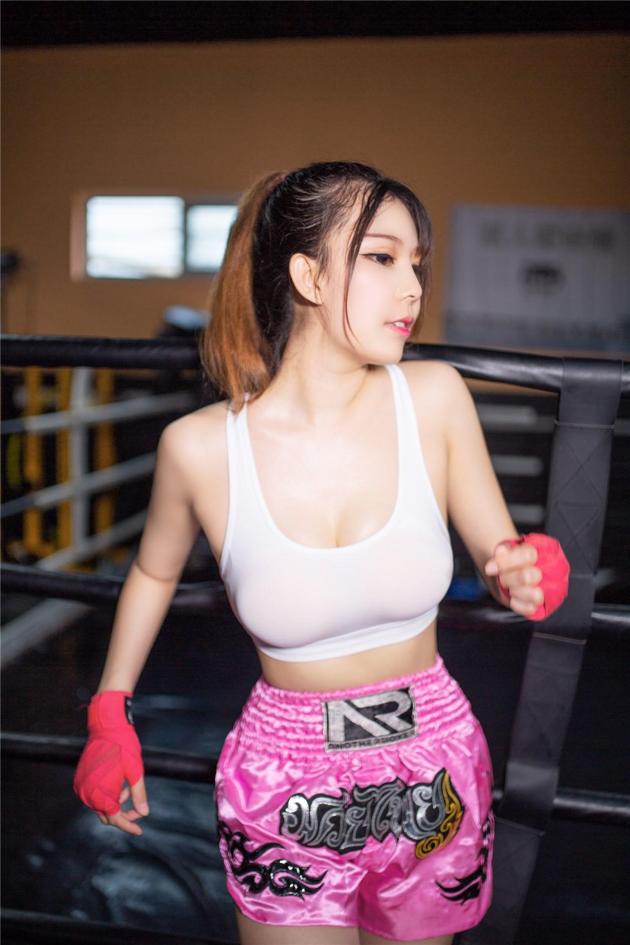 【兔玩映画】健身房的美少女 兔玩映画 第9张