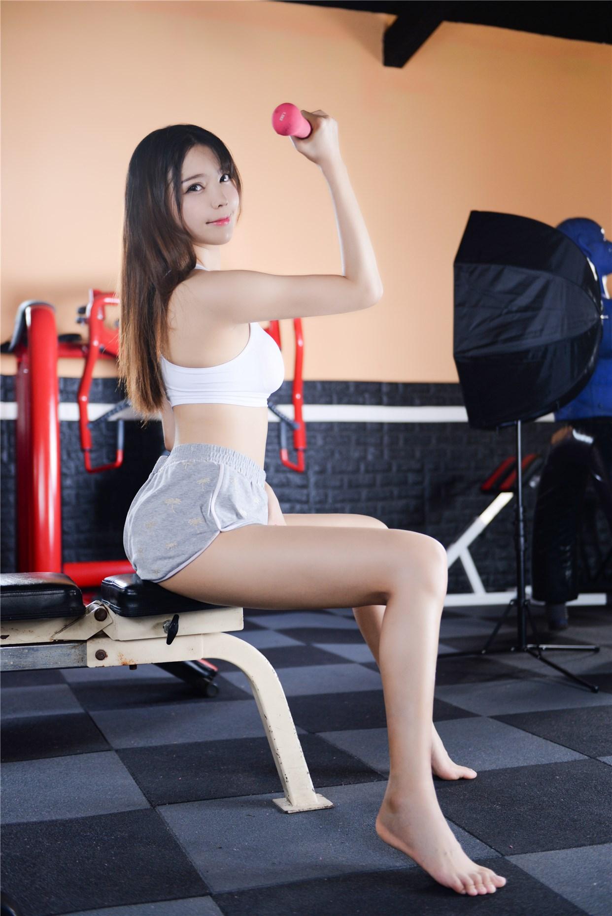 【兔玩映画】健身房的美少女 兔玩映画 第1张