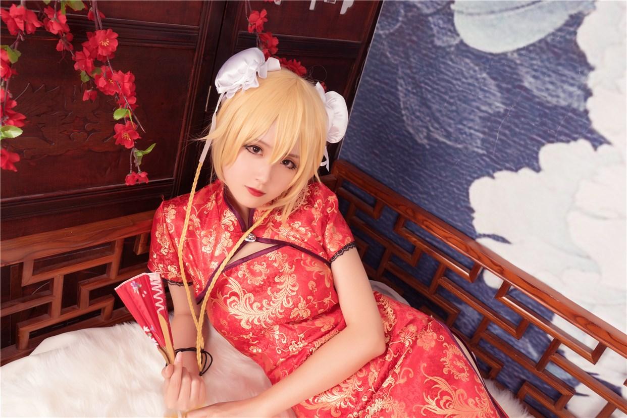 【兔玩映画】红色旗袍 兔玩映画 第38张