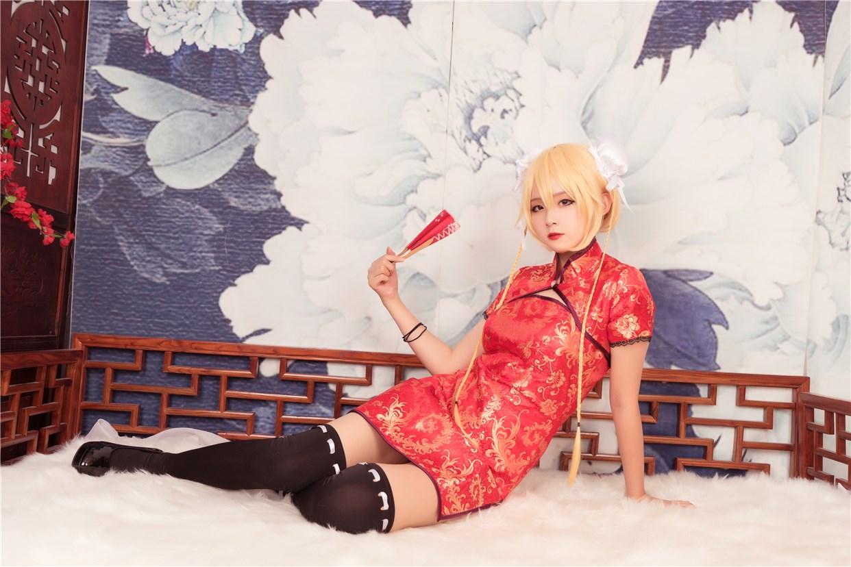 【兔玩映画】红色旗袍 兔玩映画 第39张