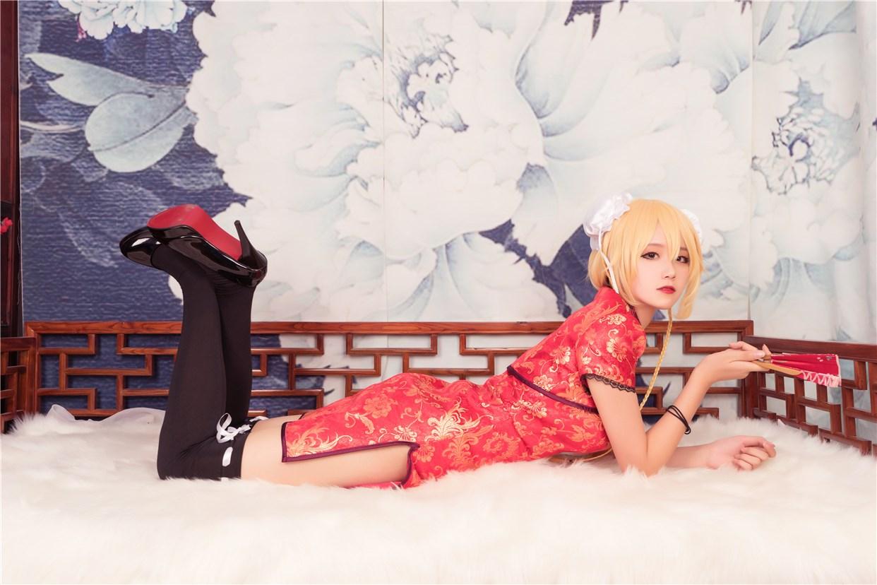 【兔玩映画】红色旗袍 兔玩映画 第35张