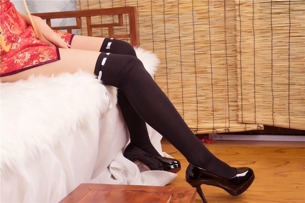 【兔玩映画】红色旗袍 兔玩映画 第31张