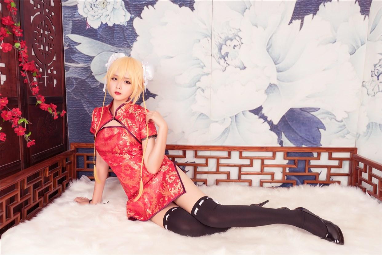 【兔玩映画】红色旗袍 兔玩映画 第22张