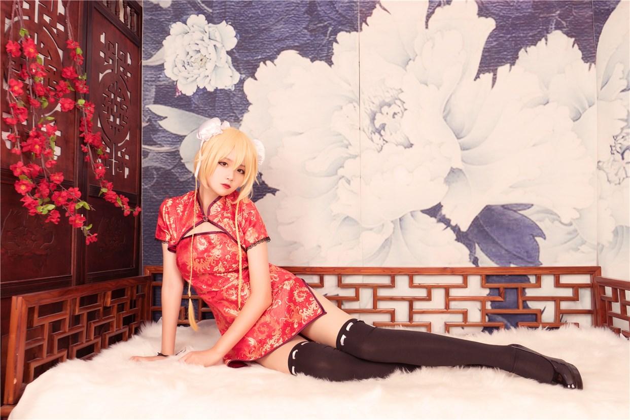 【兔玩映画】红色旗袍 兔玩映画 第17张