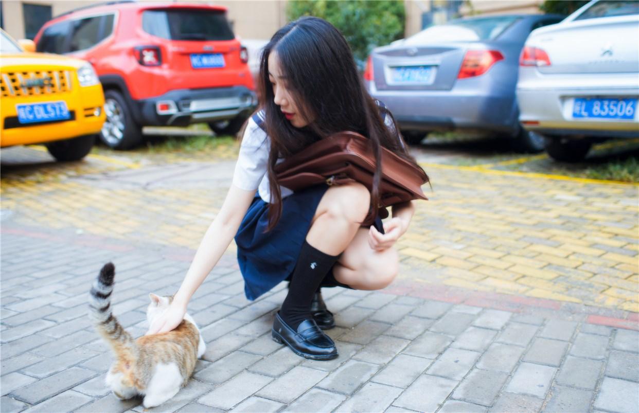 【兔玩映画】制服泡泡袜 兔玩映画 第35张