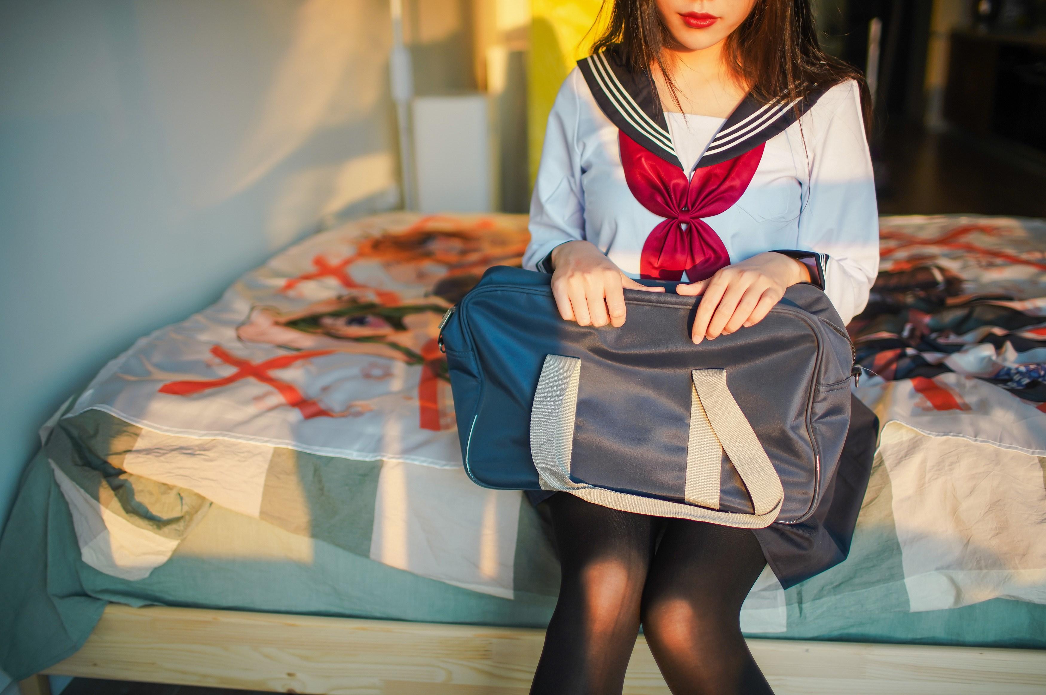 【兔玩映画】牛奶JK连裤袜 兔玩映画 第7张