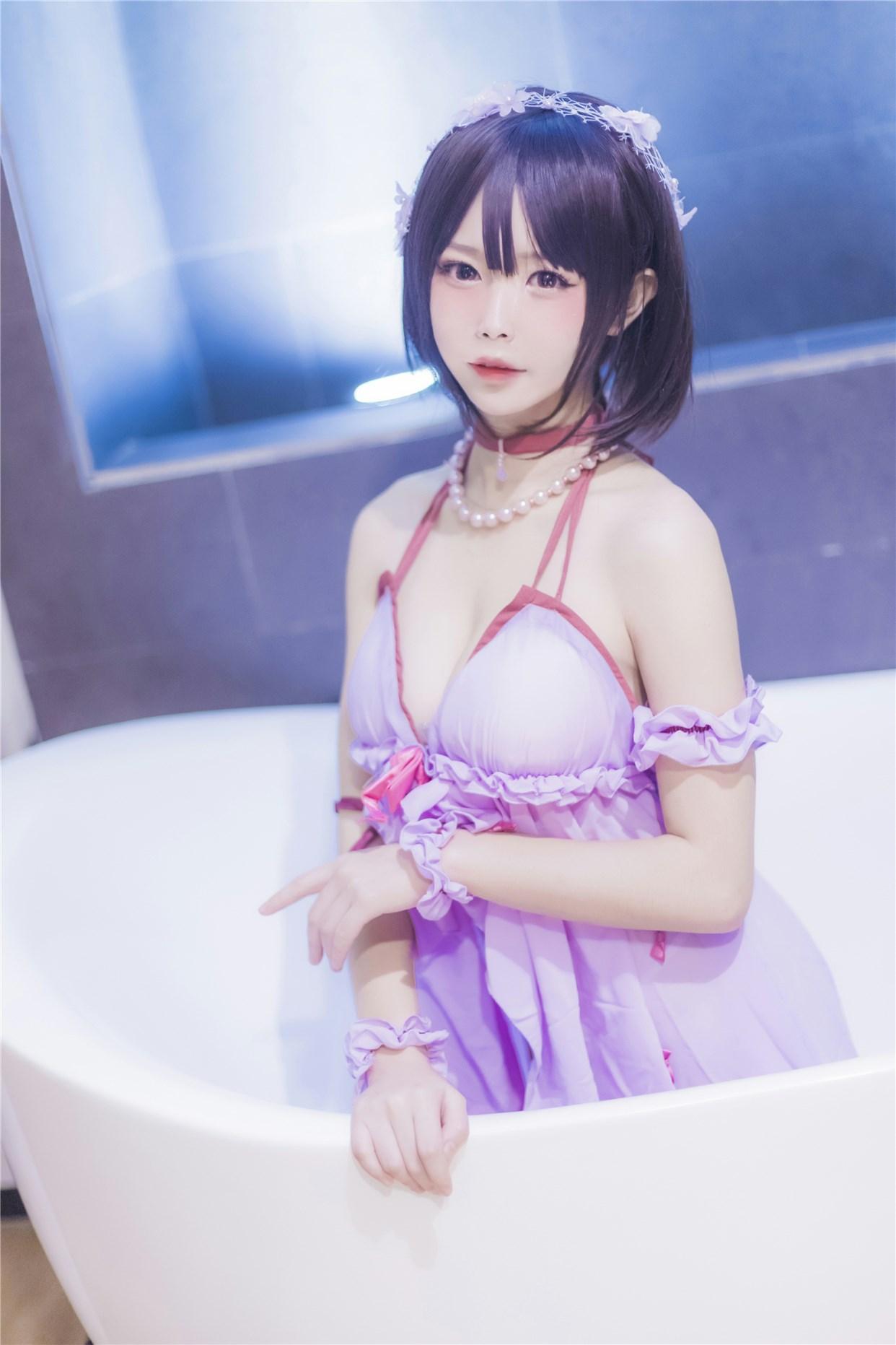 【兔玩映画】加藤惠的睡衣 兔玩映画 第24张