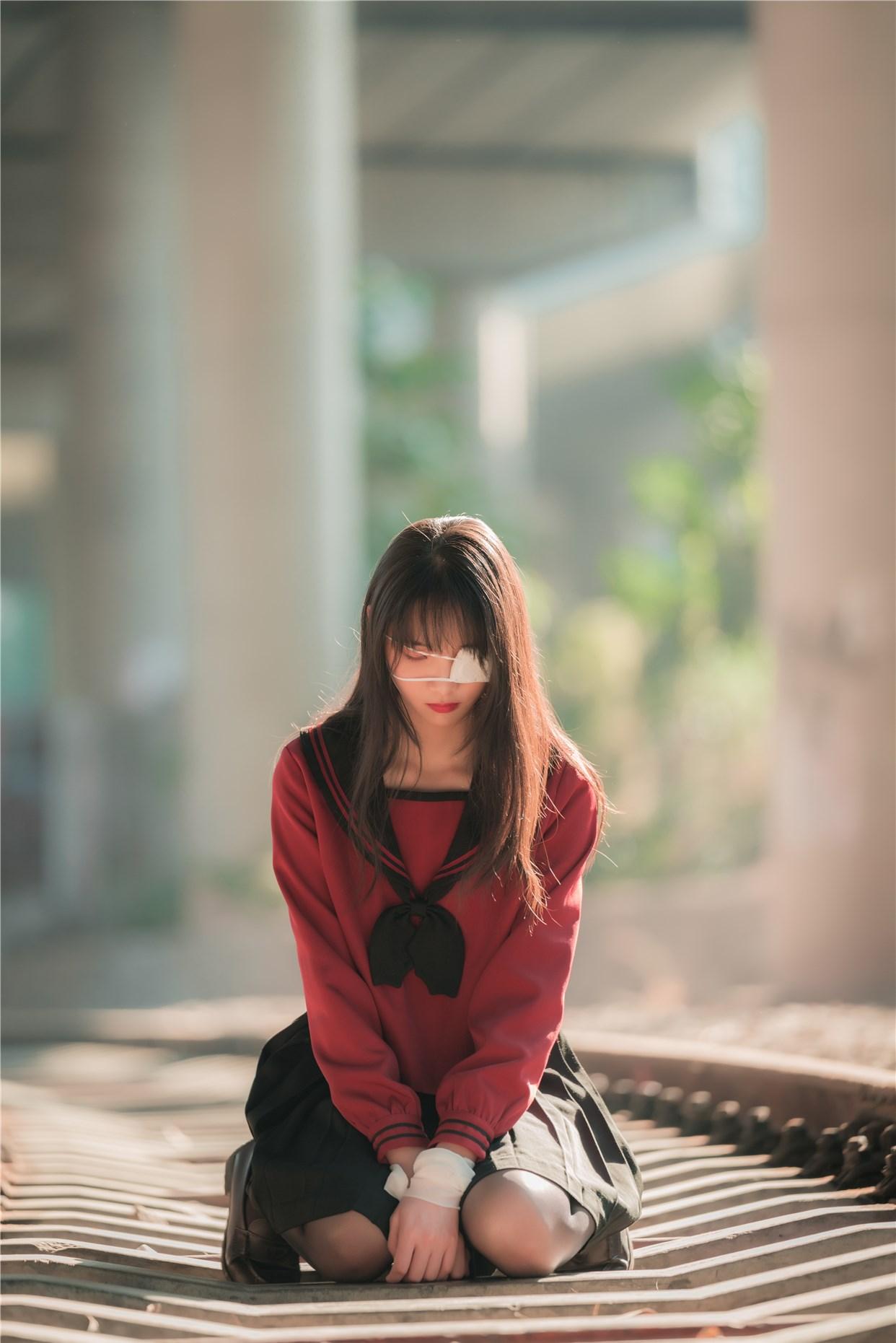 【兔玩映画】奔跑的红色JK 兔玩映画 第33张