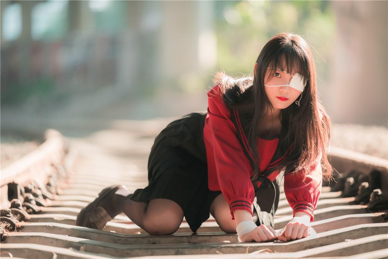 【兔玩映画】奔跑的红色JK 兔玩映画 第35张