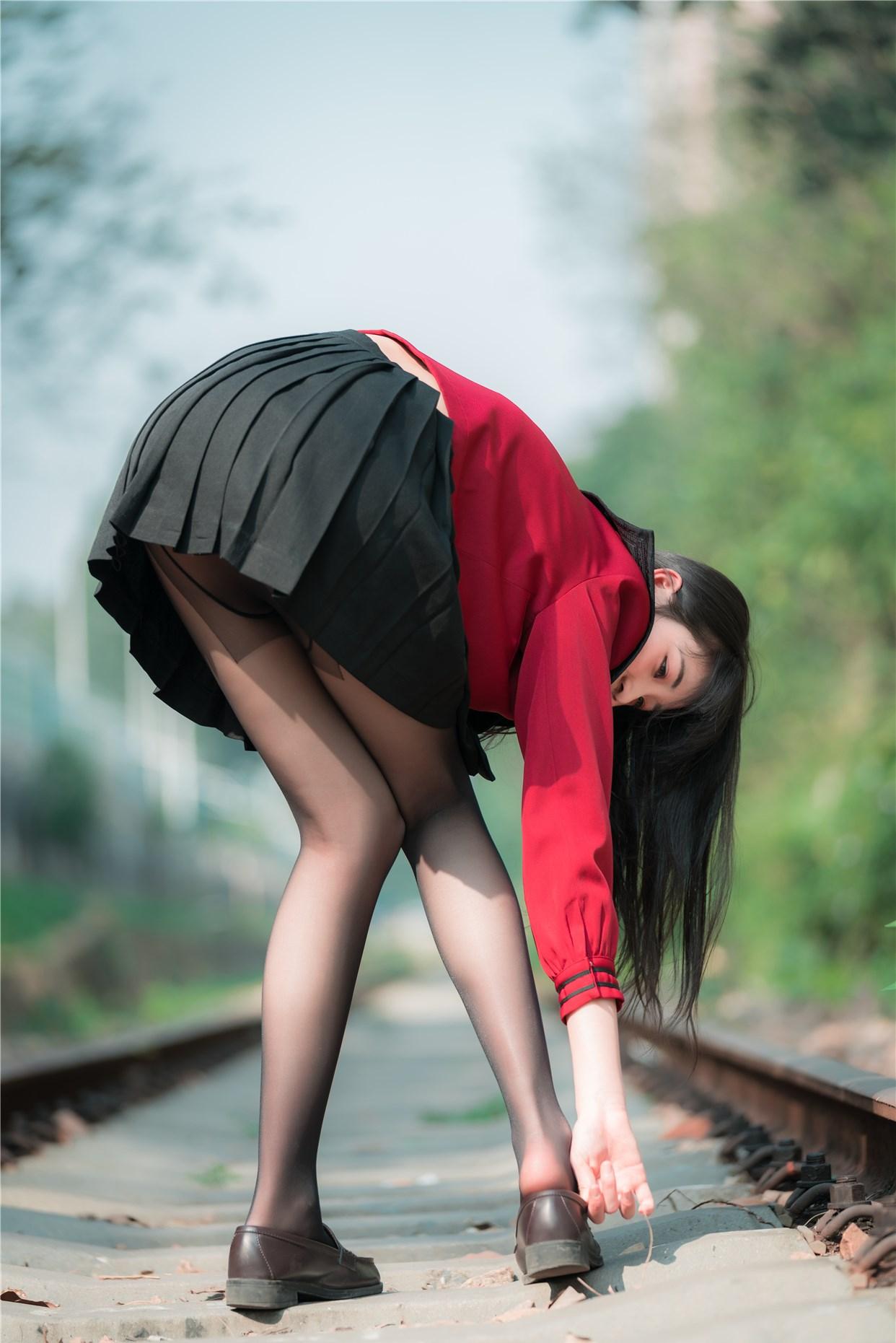 【兔玩映画】奔跑的红色JK 兔玩映画 第18张