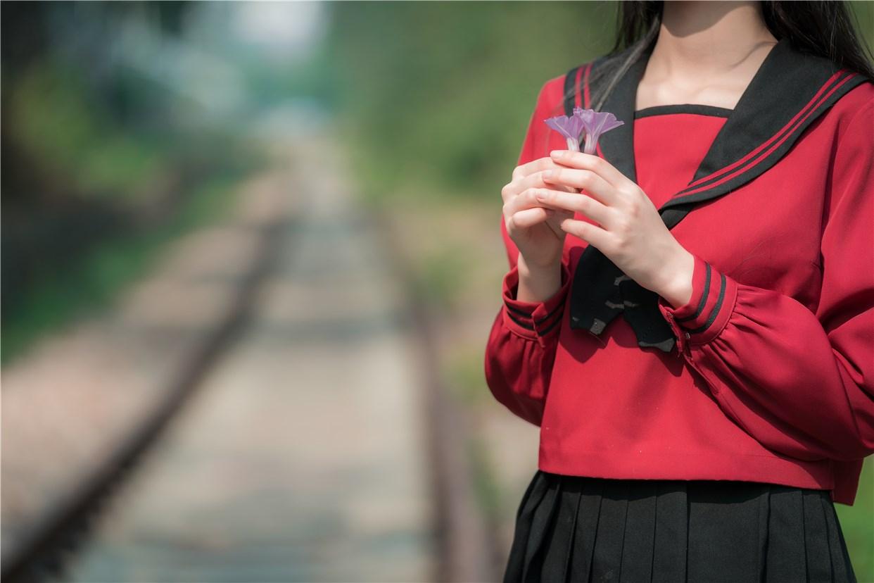 【兔玩映画】奔跑的红色JK 兔玩映画 第13张