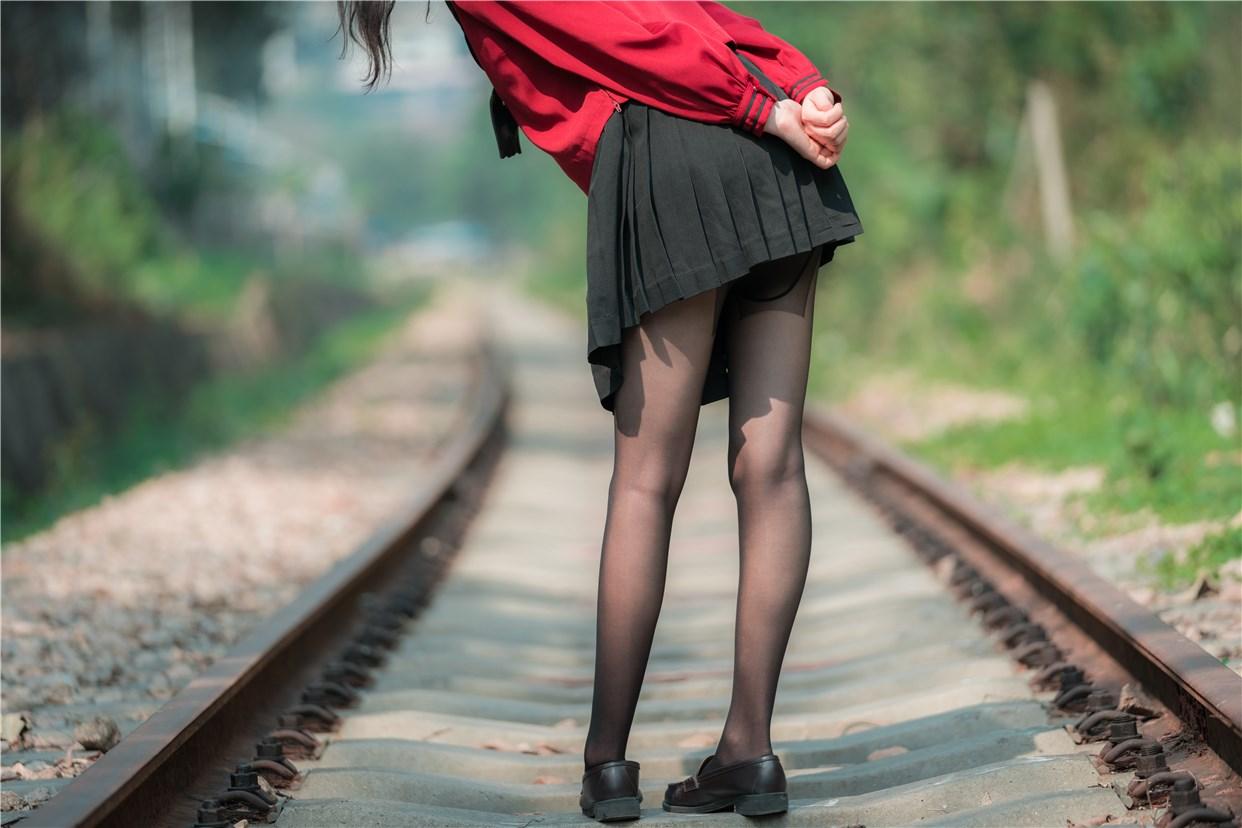 【兔玩映画】奔跑的红色JK 兔玩映画 第10张