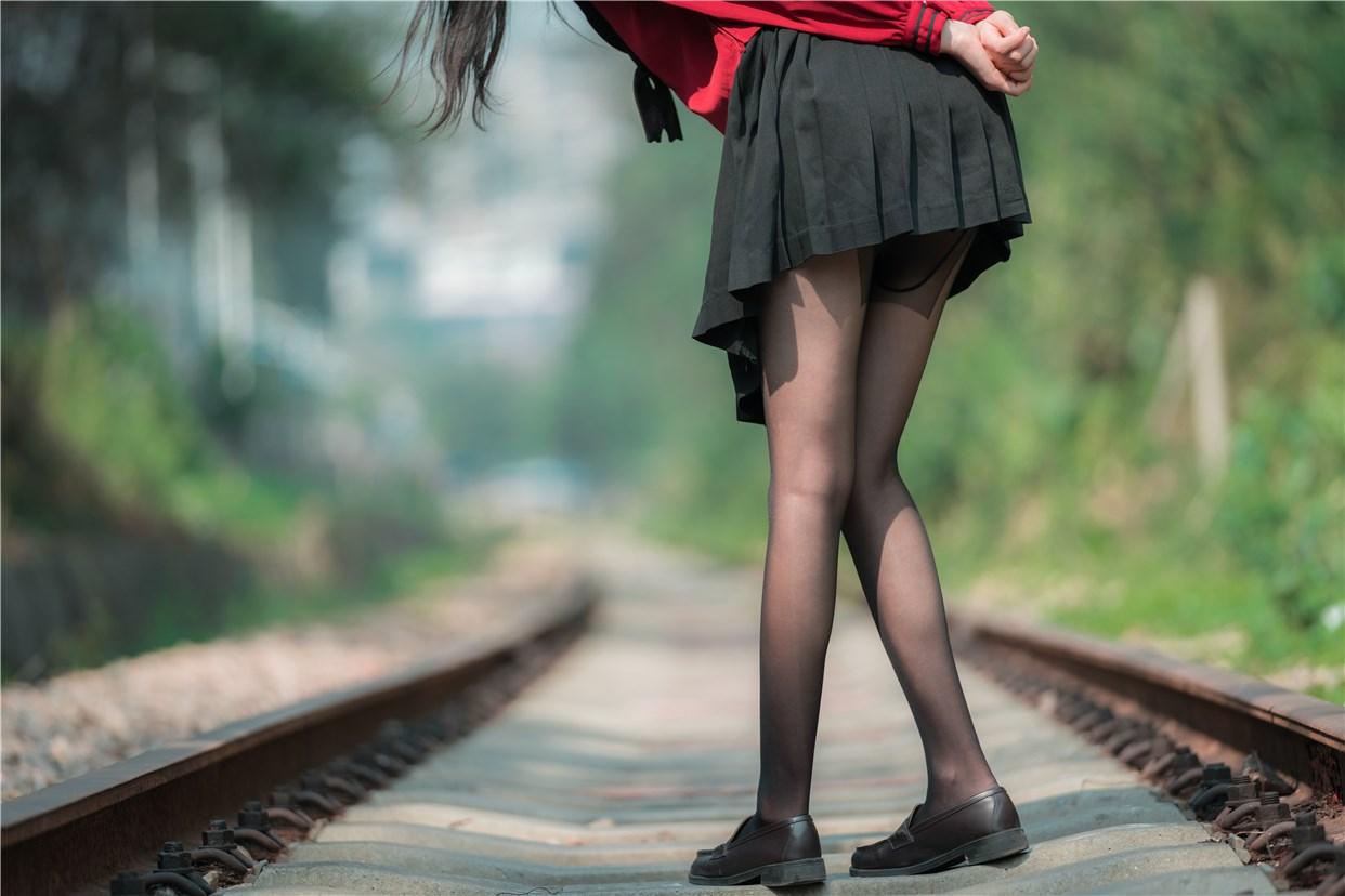 【兔玩映画】奔跑的红色JK 兔玩映画 第11张