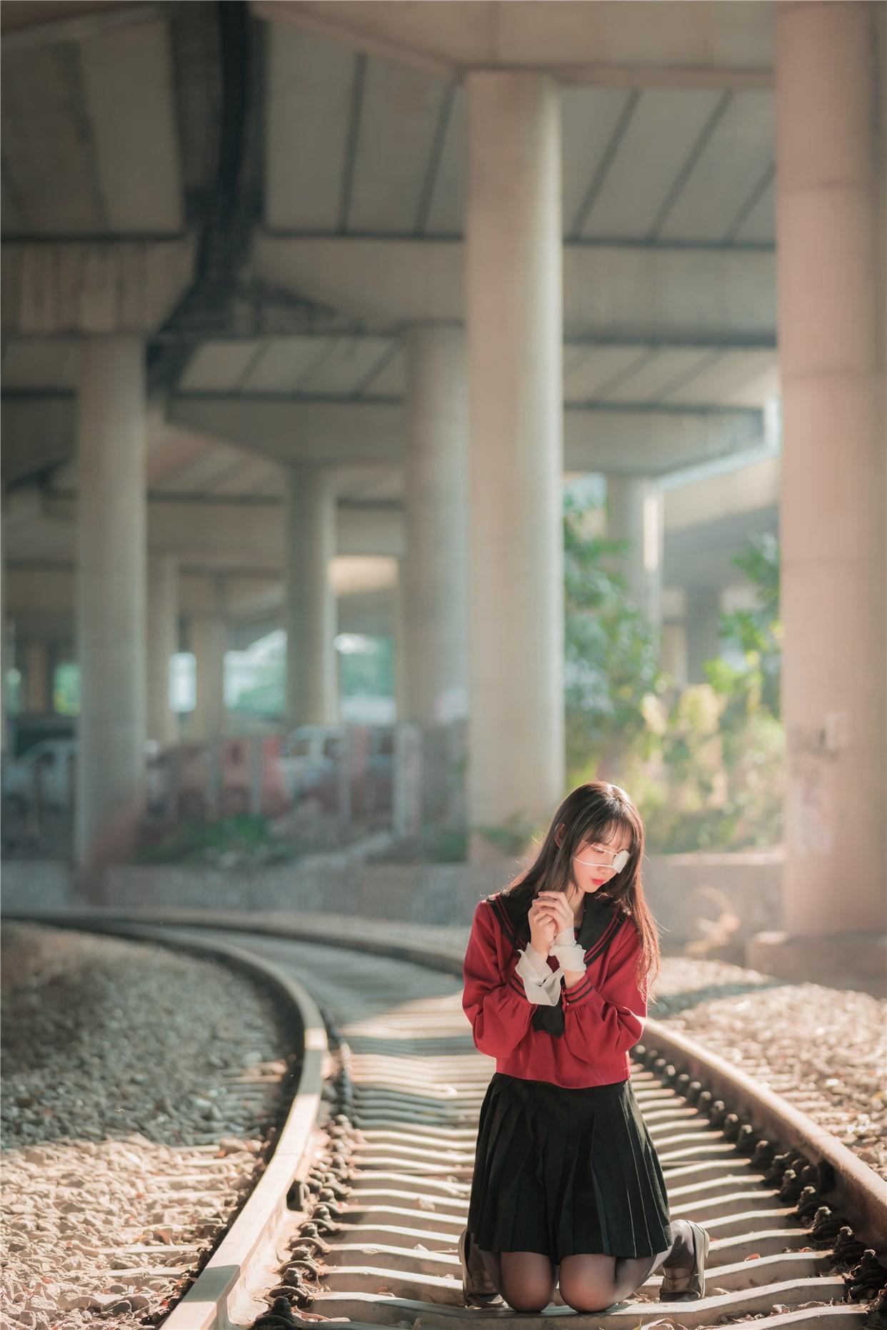 【兔玩映画】奔跑的红色JK 兔玩映画 第7张