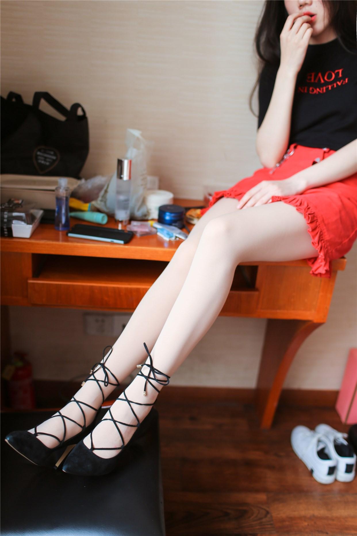 【兔玩映画】完美的肉丝高跟鞋 兔玩映画 第21张