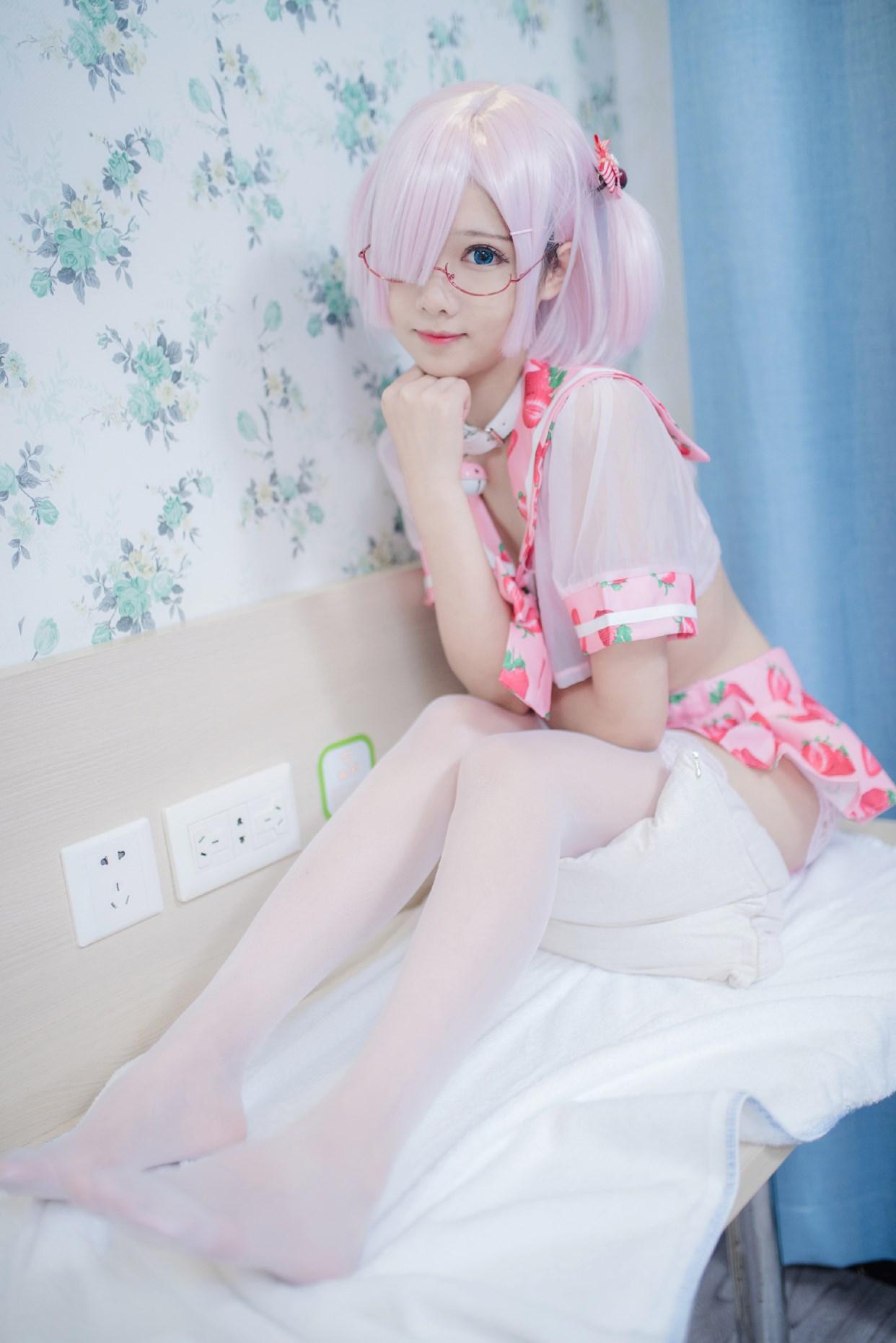 【兔玩映画】vol.15-草莓裙 兔玩映画 第34张