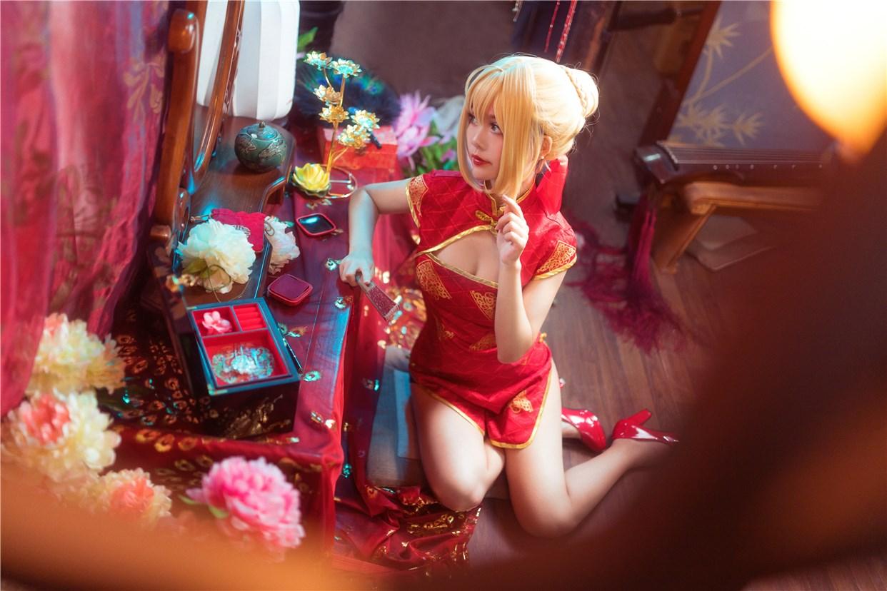 【兔玩映画】妹妹和红色旗袍 兔玩映画 第23张