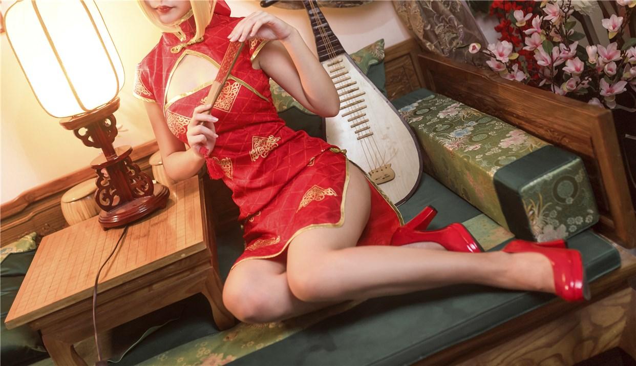 【兔玩映画】妹妹和红色旗袍 兔玩映画 第12张
