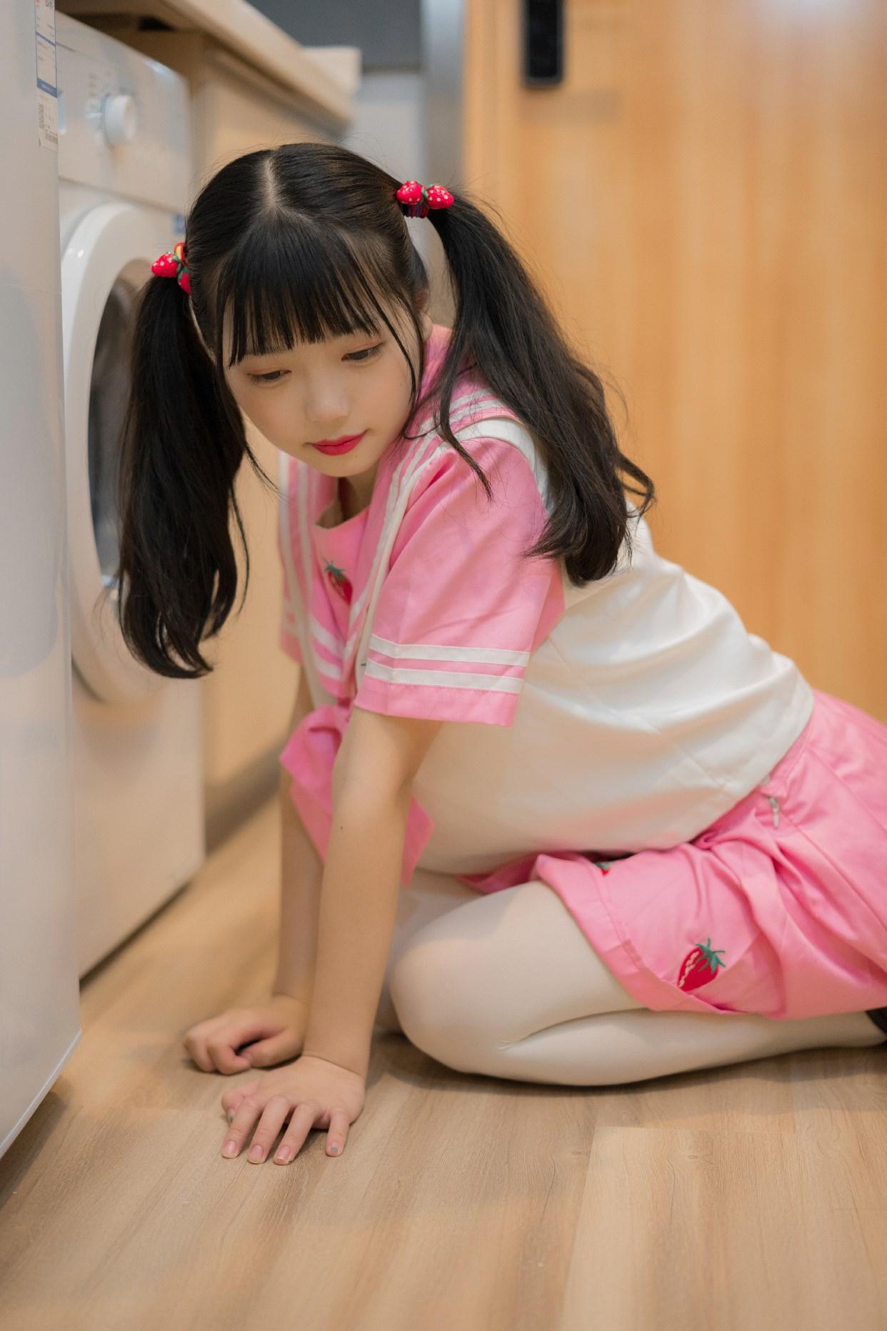 【兔玩映画】粉色草莓JK 兔玩映画 第39张
