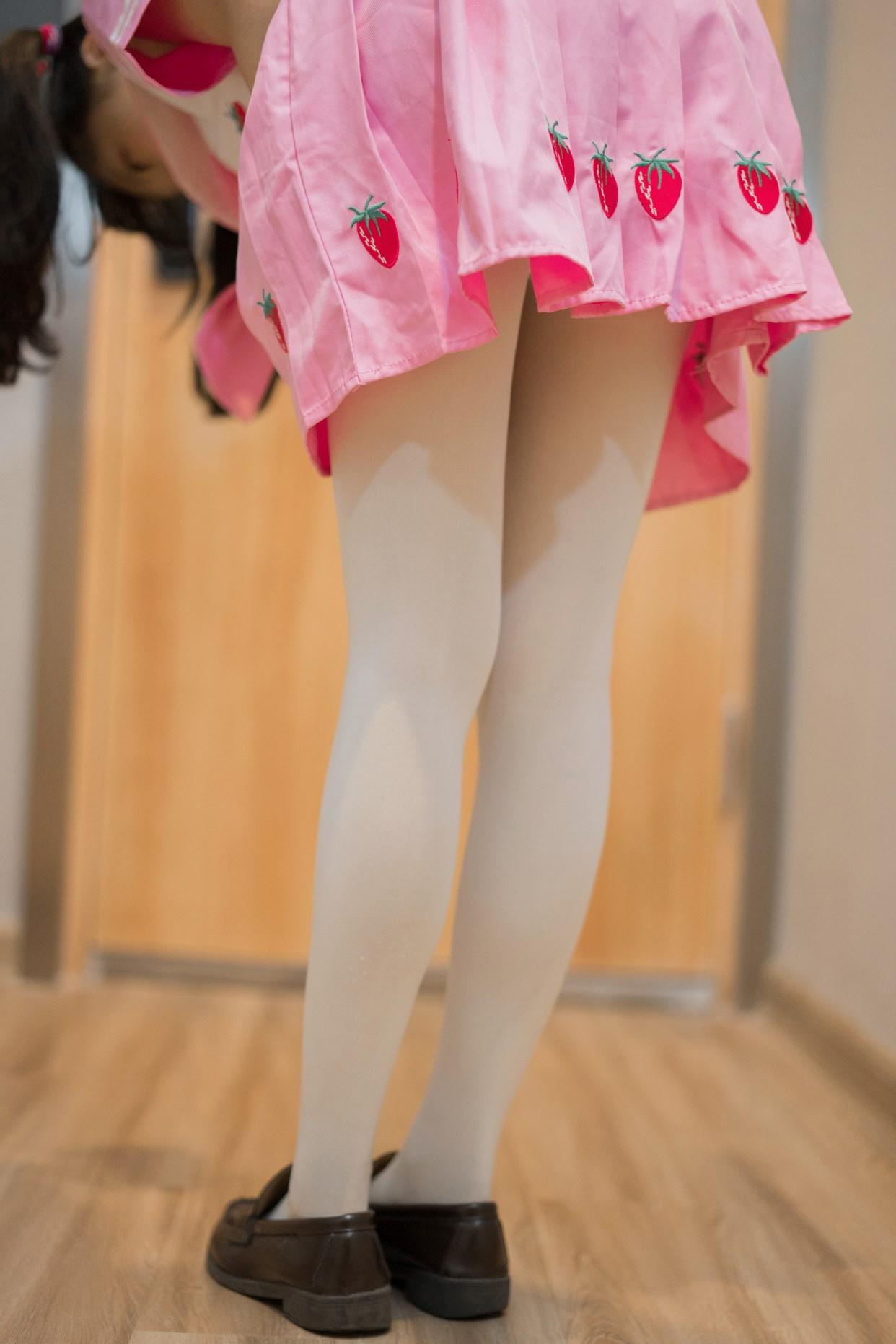【兔玩映画】粉色草莓JK 兔玩映画 第40张