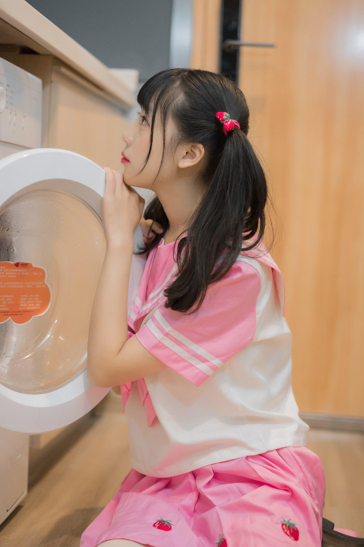 【兔玩映画】粉色草莓JK 兔玩映画 第34张