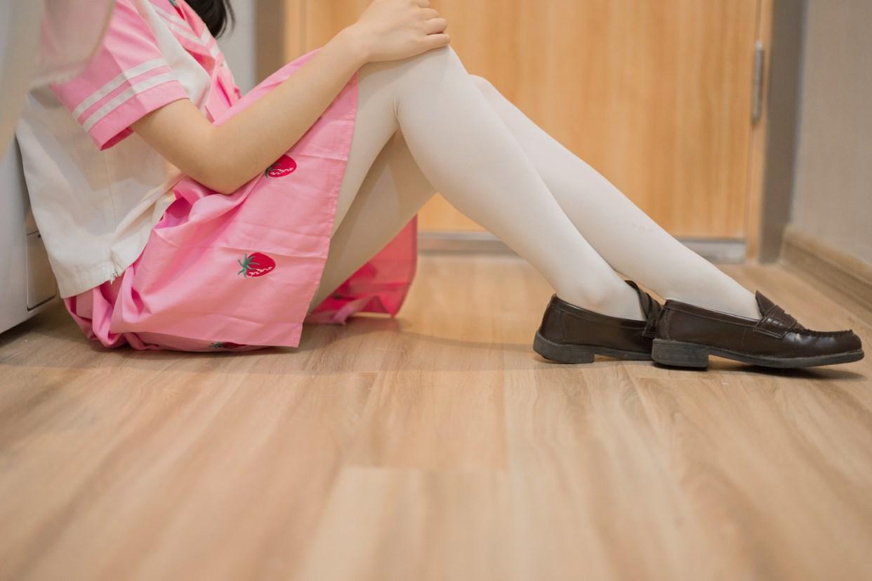 【兔玩映画】粉色草莓JK 兔玩映画 第31张
