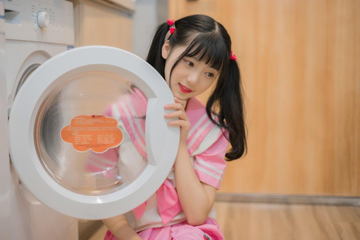 【兔玩映画】粉色草莓JK 兔玩映画 第32张