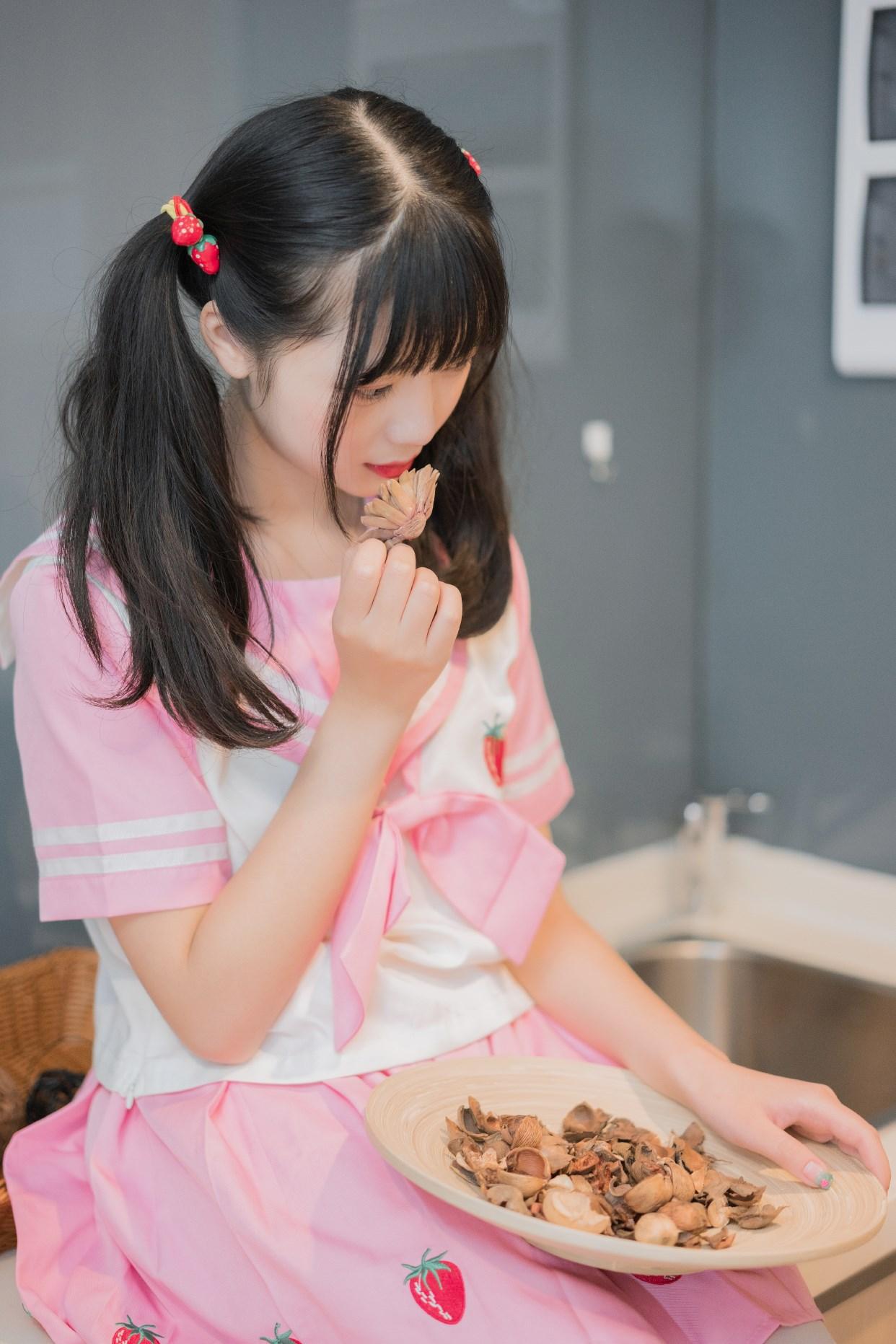 【兔玩映画】粉色草莓JK 兔玩映画 第25张
