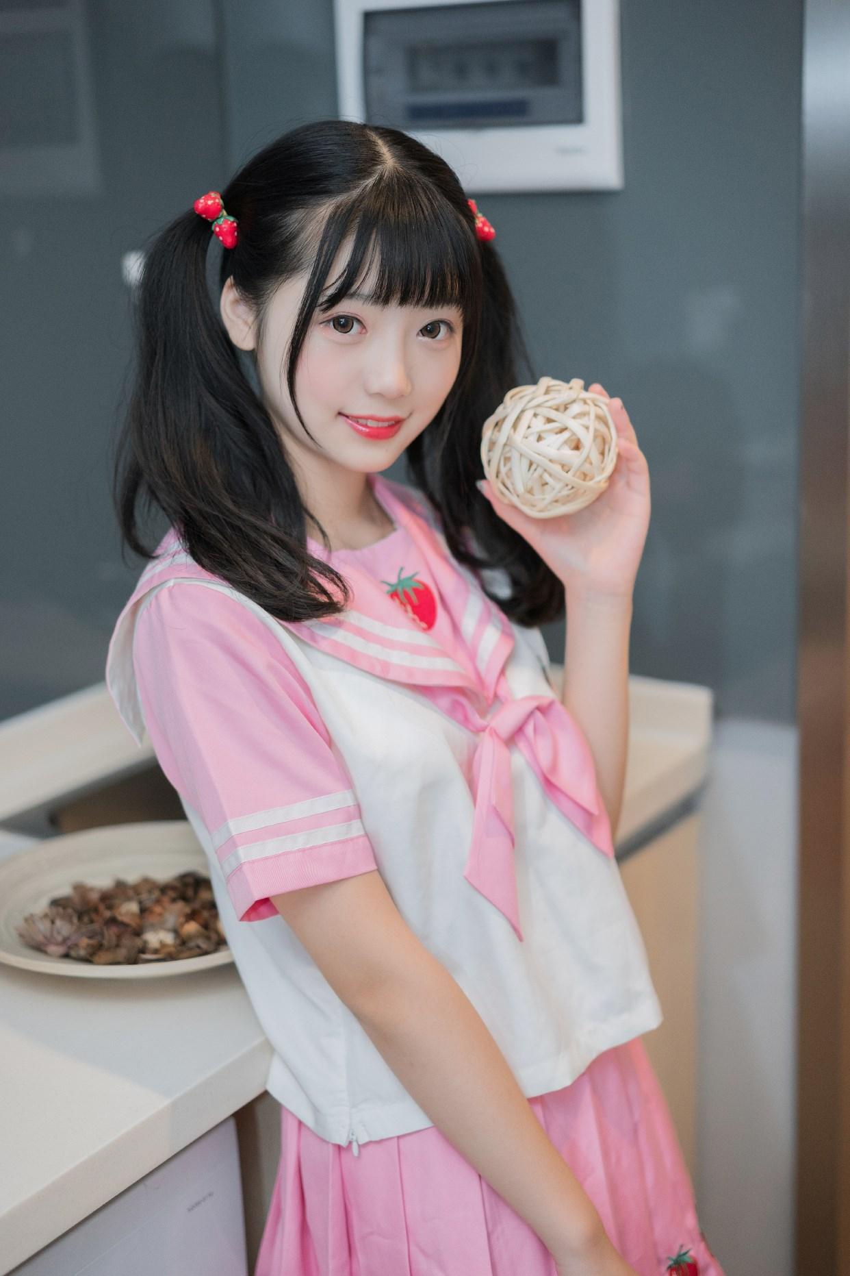【兔玩映画】粉色草莓JK 兔玩映画 第23张