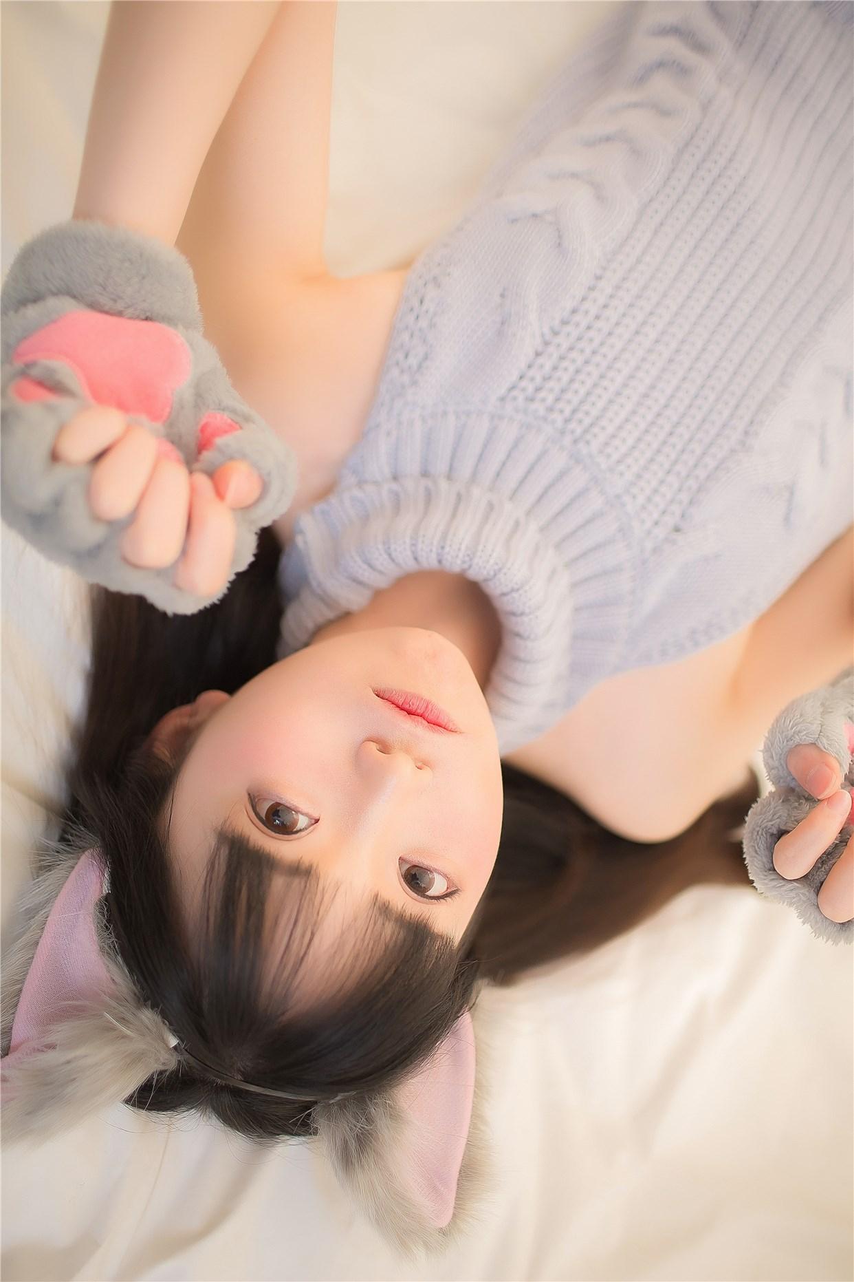【兔玩映画】萌娘的露背毛衣 兔玩映画 第27张