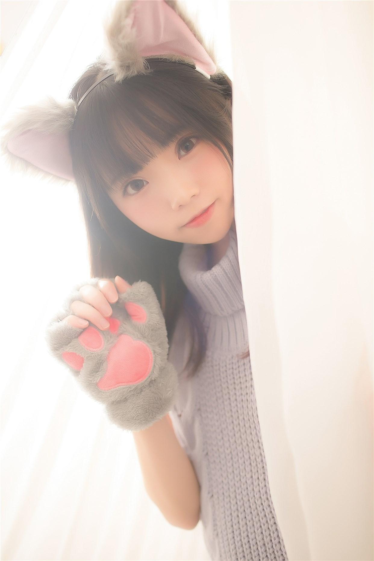 【兔玩映画】萌娘的露背毛衣 兔玩映画 第21张