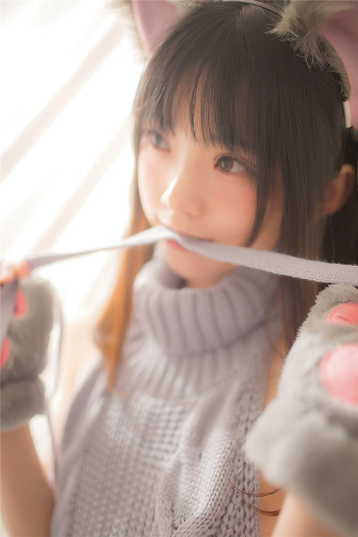 【兔玩映画】萌娘的露背毛衣 兔玩映画 第18张