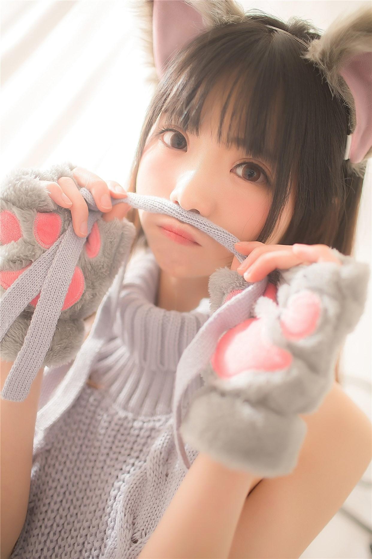 【兔玩映画】萌娘的露背毛衣 兔玩映画 第19张