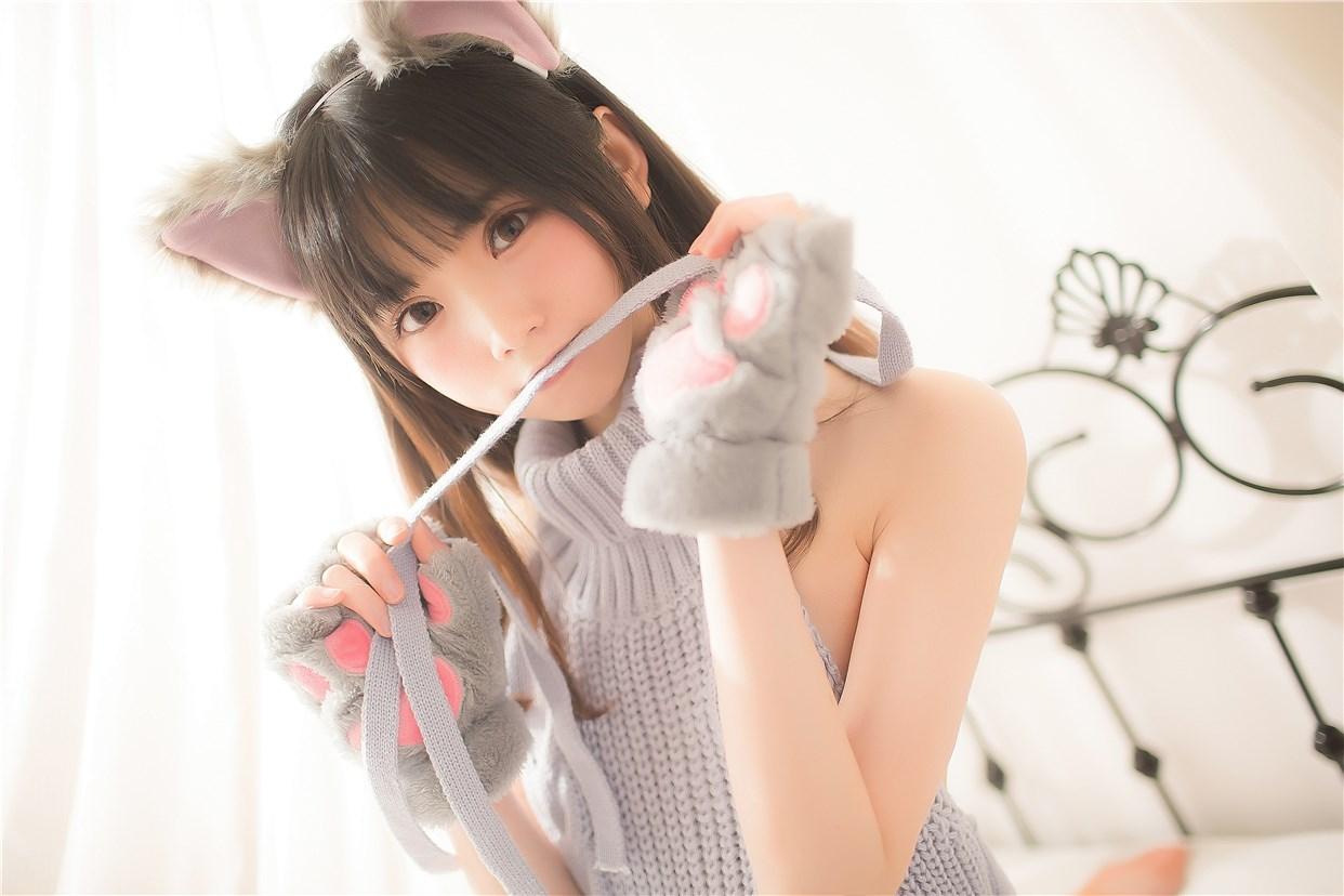 【兔玩映画】萌娘的露背毛衣 兔玩映画 第16张