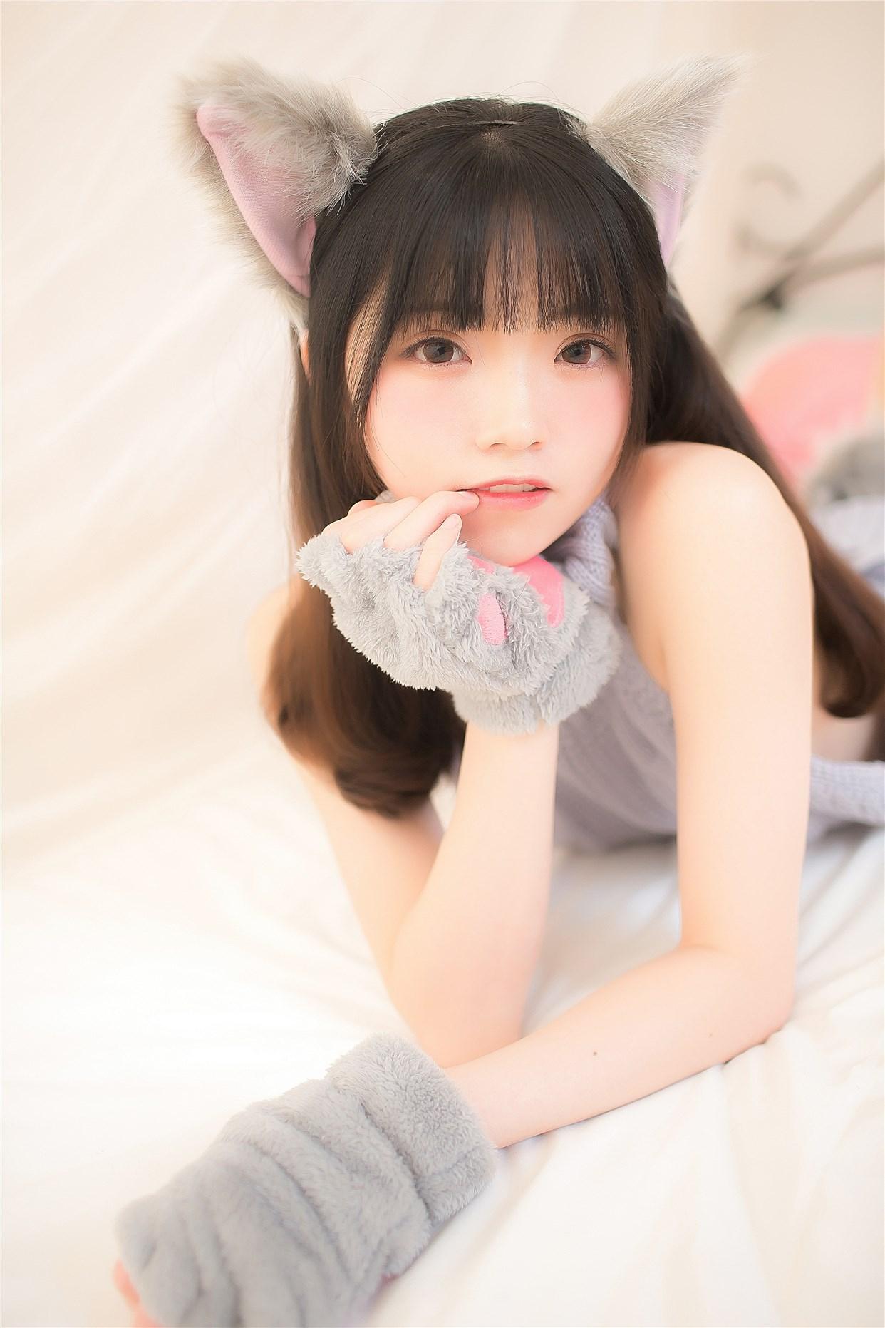 【兔玩映画】萌娘的露背毛衣 兔玩映画 第12张