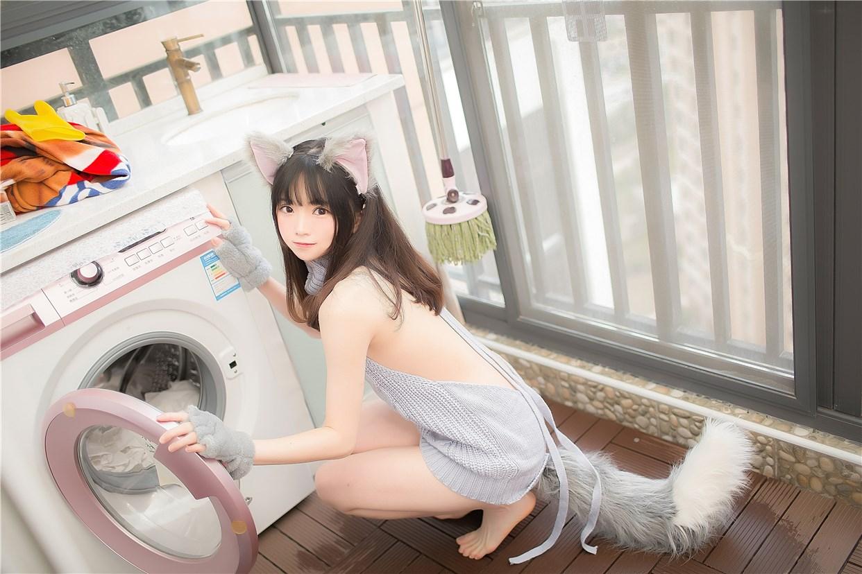 【兔玩映画】萌娘的露背毛衣 兔玩映画 第5张
