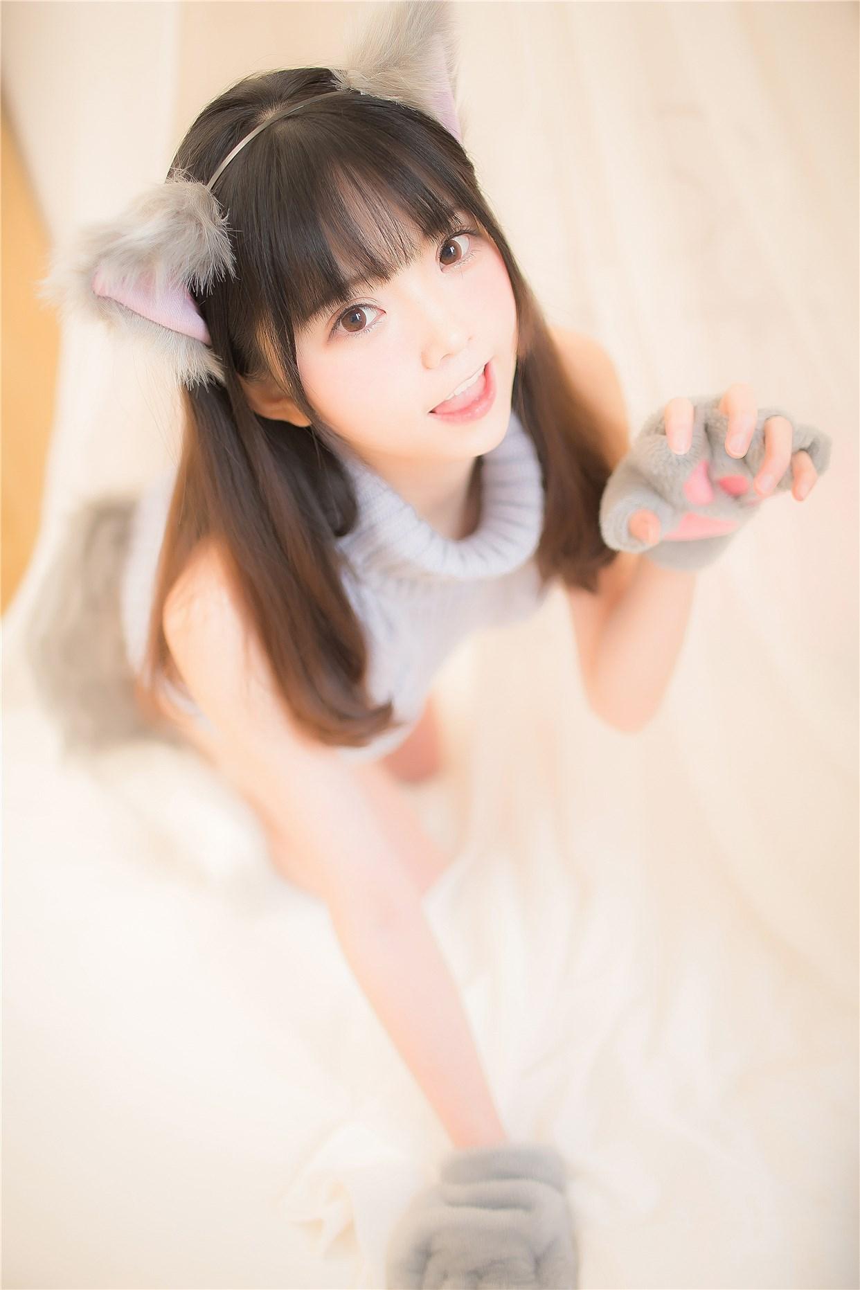 【兔玩映画】萌娘的露背毛衣 兔玩映画 第1张