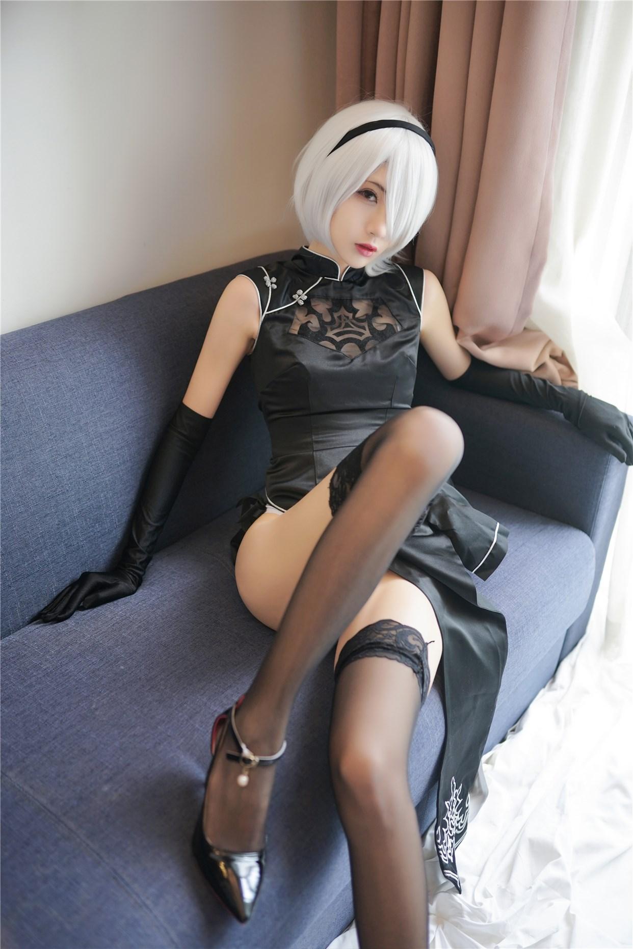 【兔玩映画】旗袍小姐姐好腿! 兔玩映画 第21张