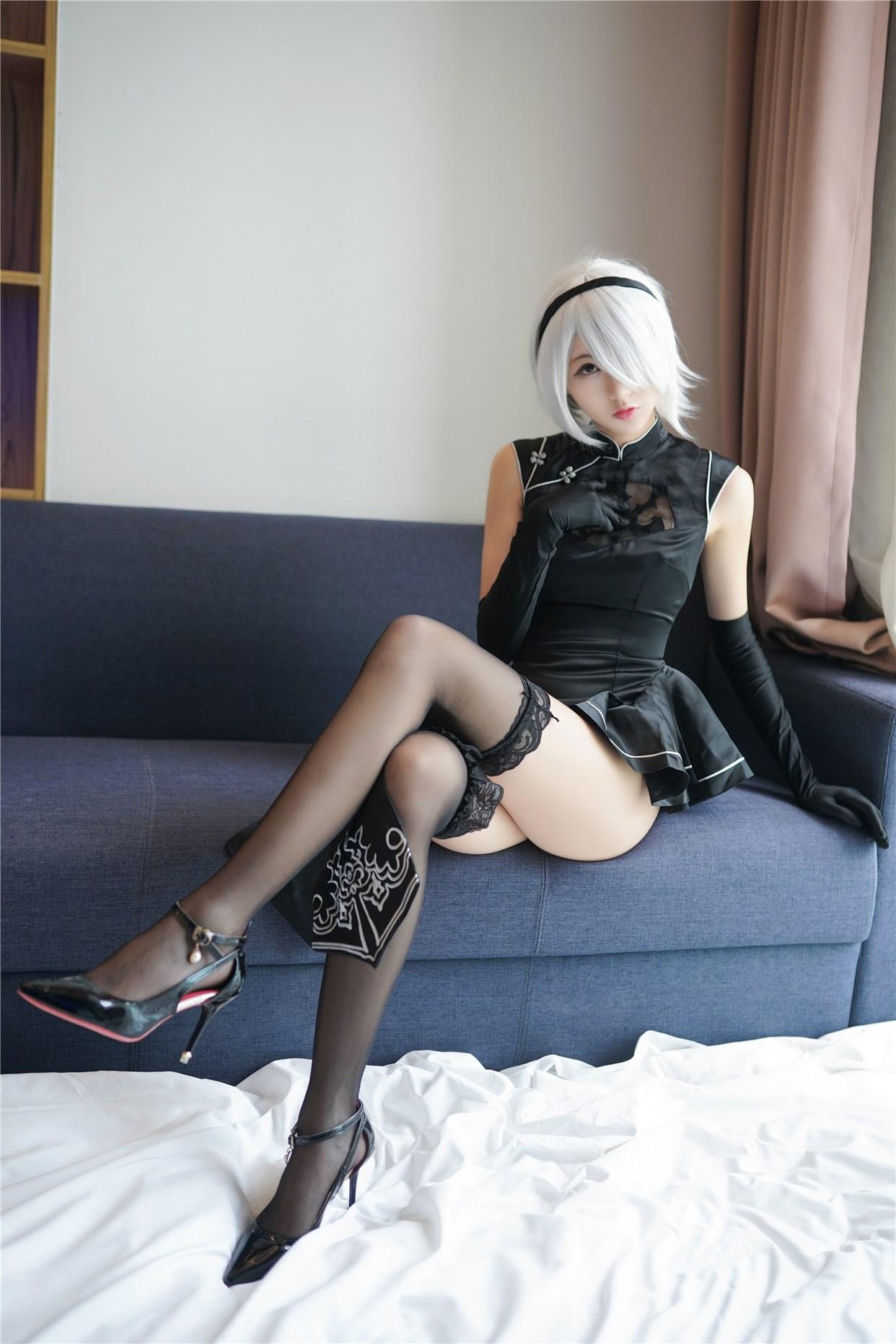 【兔玩映画】旗袍小姐姐好腿! 兔玩映画 第1张
