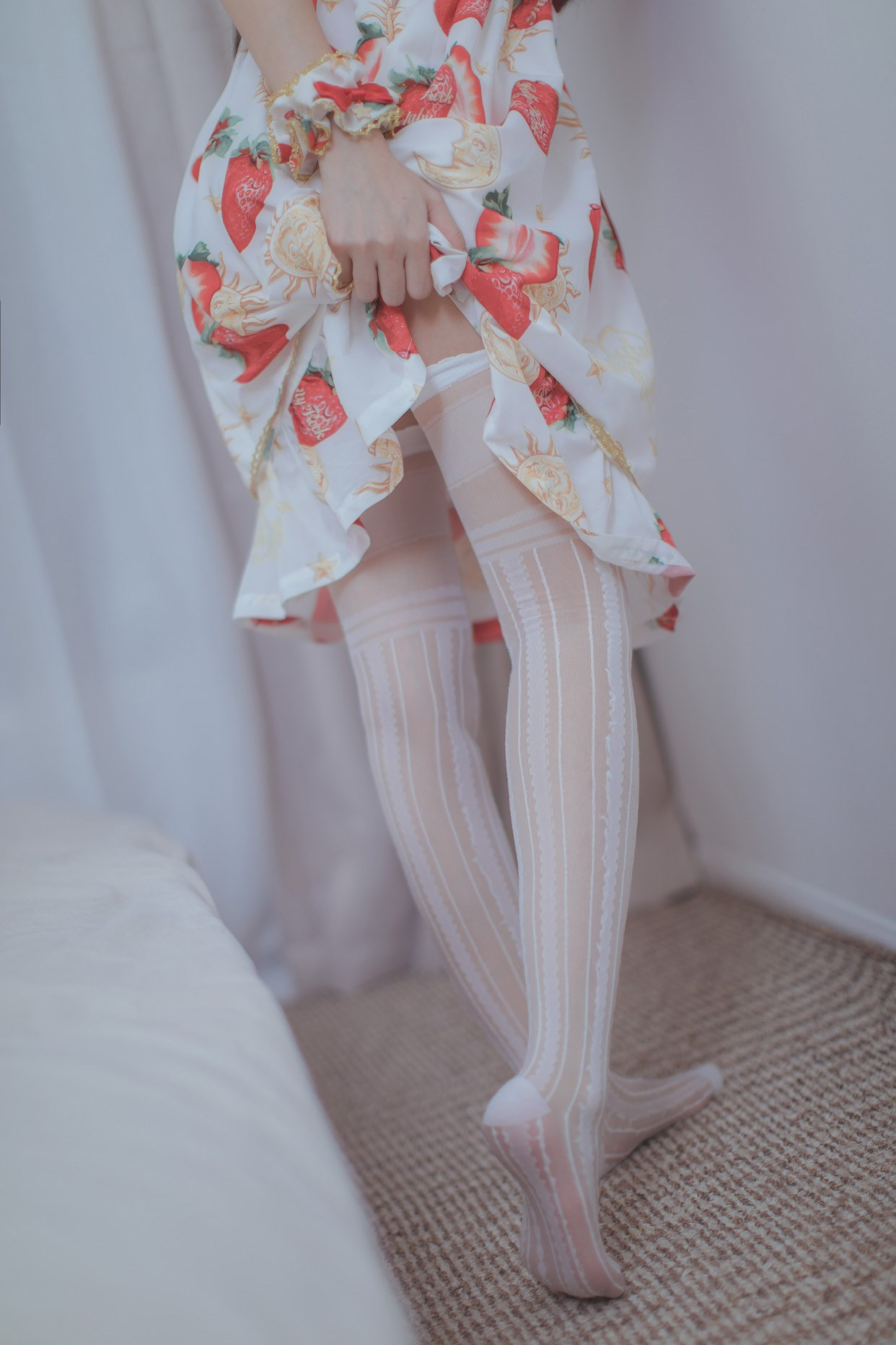 【兔玩映画】草莓小裙子 兔玩映画 第41张