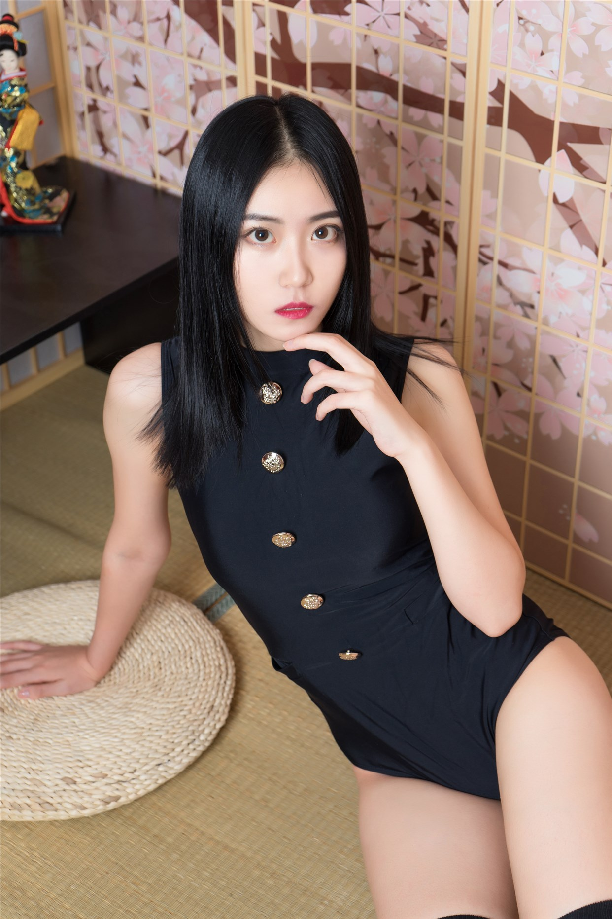 【兔玩映画】黑色制服的少女 兔玩映画 第7张