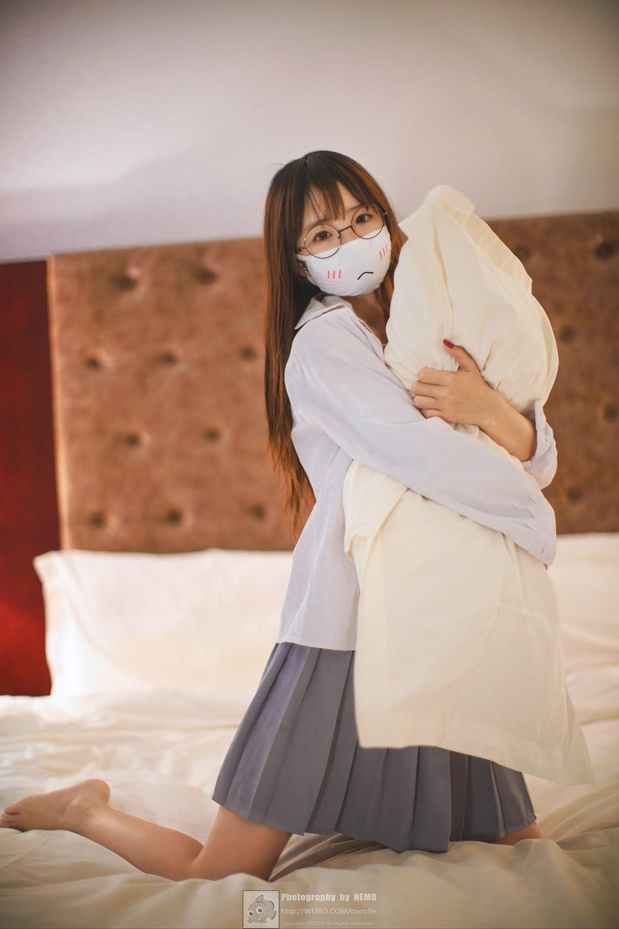 【兔玩映画】口罩御子和她的白色死库水 兔玩映画 第12张