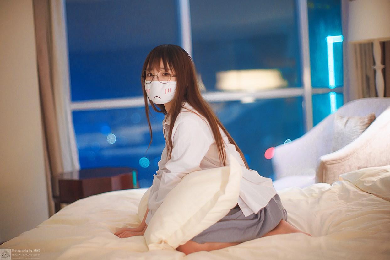 【兔玩映画】口罩御子和她的白色死库水 兔玩映画 第13张