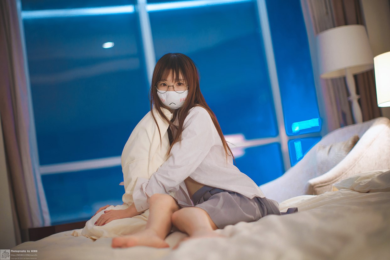 【兔玩映画】口罩御子和她的白色死库水 兔玩映画 第14张