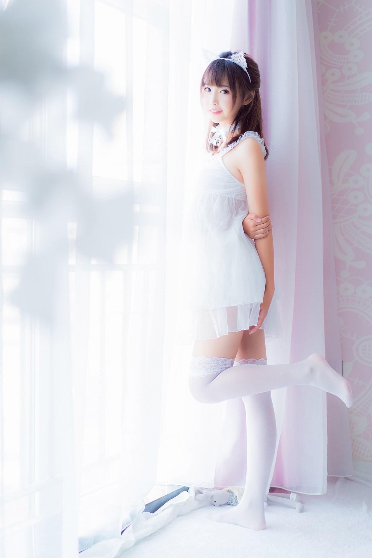 【兔玩映画】vol.12-吊带睡衣 兔玩映画 第40张