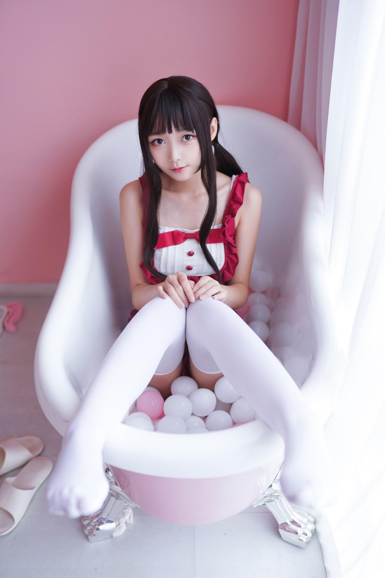 【兔玩映画】vol.15-粉白色 兔玩映画 第14张